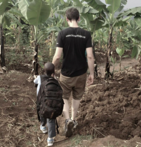 Home of Hope Teams - Brayden in Rwanda