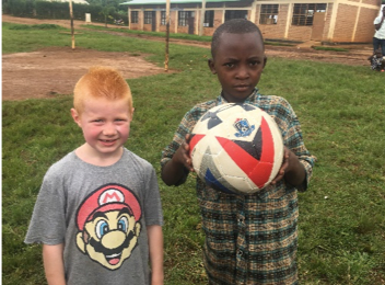 klassen family 5 five africa rwanda home of hope lacey jacob jake eleah brianca blaze fun safari trip mission tour hoh brian thomson blog post 2019 soccer